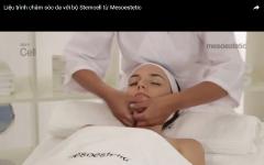 Liệu trình chăm sóc da với bộ Stemcell từ MESOESTETIC